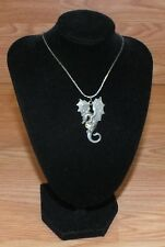 "Genuine Gallo Dragon Holding Crystal Style Ball Pendant 18"" Inch Necklace *READ*"