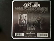 The Adventures of Nero Wolff 9CDs 9Hours 18 Episodes OLD TIME RADIO ADVENTURES