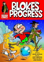 BLOKE'S PROGRESS by Hunt Emerson and Kevin Jackson