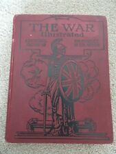 Vtg The War Illustrated Volume 6 , WW1 h/b with illustrations amalgamated press
