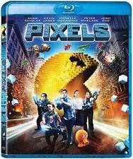 Pixels   [Blu-ray] [Region Free]    Brand new and sealed