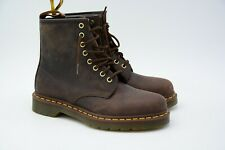 Dr. Martens Men's 1460 Gaucho Crazy Horse Lace Up Boot Size US 7 M EU 39 Used