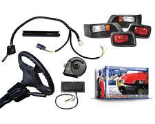 Street Legal Ultimate Light Kit, EZGO TXT Golf Carts, Turn Signals, Brake Lights