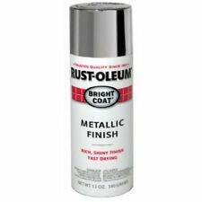 Aluminum Metallic Silver Spray Paint Acrylic Lacquer Rustoleum Can Painting 11O