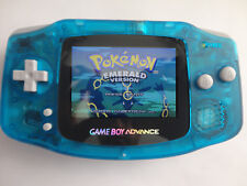 Backlit Nintendo GBA Game boy Advance Custom Backlight glow in the dark ags 101