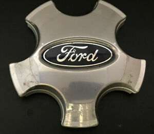 05-07 Ford Freestyle OEM Center Cap Has Machined Finish PN 5F93-1A096-BG