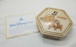 Snow White Disney 70th Anniversary Trinket Box RARE Cast Exclusive collectors
