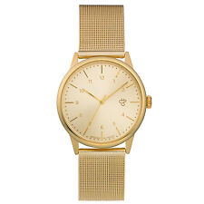 CHEAPO NEW Mens Gold Rawiya Watch BNWT