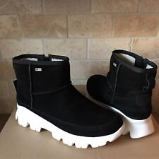 UGG PALOMAR WATERPROOF BLACK SUEDE SNEAKERS SHOES ANKLE BOOTS SIZE 8.5 WOMENS