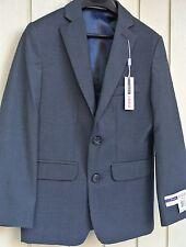 Izod Boy's Charcoal Gray Sport Coat Blazer Jacket size 8 Regular New $90
