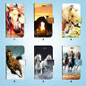 Horse Racing Wallet Case Cover for iPhone XS MAX XR X 8 7 6 6S Plus SE 5S 007