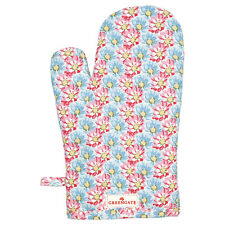 GreenGate Floral Miranda Pale Pink Grill/ Oven Glove
