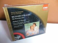 Strauss Der Rosenkavalier Schwarzkopf Ludwig Karajan 3 CD Sealed Cutout Pls Read