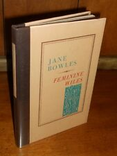 First Edition ~ Feminine Wiles by Jane Bowles (1976, Black Sparrow, Hardcover)