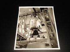 VERY UNCOMMON/RARE VINTAGE NASA B/W APOLLO 14 COMMAND/SERVICE MODULE PHOTO
