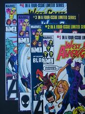 West Coast Avengers #1 #2 #3 #4 1984 Lot of 4 NM- High Grade Marvel Comics