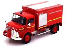 Firefighters Truck Mercedes LAF 911 rocher hoses Fire 1:43 Diecast model car Ixo