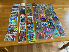 Lot of 60 Plus Super Hero And Other Collecter Cards