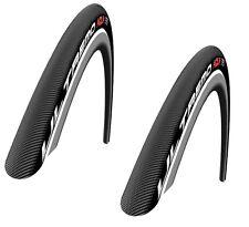x2 Schwalbe Bicycle Ultremo Aqua Bike Tire 23-622 700 x 23C HD Speed Guard HS026