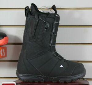 NEW Burton Moto Snowboard Boots Speedzone Lacing Black Men's Sizes 8-14