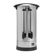 More details for electriq 25l double tap catering urn - stainless steel