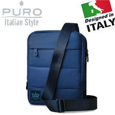 """Vertical Messenger Shoulder Bag Travel Case Cover Netbook iPad Tablet Laptop 10"""""""
