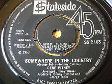 """Gene Pitney-en algún lugar del país 7"""" Vinilo"""