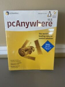 Symantec PC Anywhere Version 11.5 SEALED New