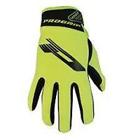 Progrip 4005 Neoprene Winter Cold & Wet MX Enduro Trail Riding Flo Yellow Gloves