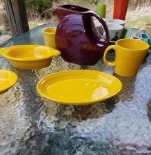 "OVAL PLATTER small PLATE daffodil yellow NEW FIESTA 9 5/8"""