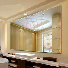 Bathroom Large Frameless Pencil Edge Mirror Hotel Wall Mounted 1500 X 900mm