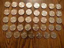 2007-2016 Presidential Dollar 39 D-Mint Bag Marked Coins From Uncirculated Rolls