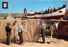 BR15135 Sesimbra Pescadores ane donkey  portugal