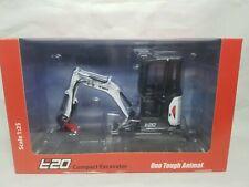 Bobcat E20 Excavator w/ Cab & Clamp - UH8098 - Diecast 1:25 Scale Model NIB