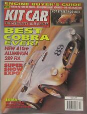 Kit car magazine March 1994 featuring Westfield