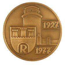 Poland 1977 POLISH MEDAL bronze 70mm