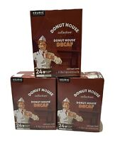 Donut House Decaf Donut House Coffee, Light Roast, Keurig K-Cups 72 Ct Exp 11/21