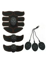 Ultimate ABS Training Abdominal Trainer 8 Pad Set EMS AB Arms Muscle Simulator