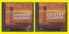 COUNTRY CLASSICS Heartland Music 1992 Disc 1 & 2 CD Lot Brenda Lee Kitty Wells