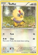 POKEMON B&W EMERGING POWERS - RUFFLET 87/98