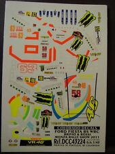 DECALS 1/43 FORD FIESTA RS WRC #46.ROSSI MONZA RALLY SHOW 11   - COLORADO  43224