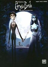Corpse Bride Selections From Motion Picture Play Piano Vocal Guitar Music Book