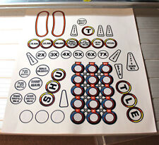 Space Shuttle Pinball Machine Insert Decals LICENSED