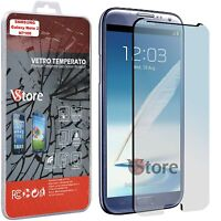 2 Pellicola in Vetro Temperato Per SAMSUNG Galaxy Note 2 N7100 Display 5,5""
