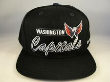 Washington Capitals NHL Reebok Snapback Hat Cap Black