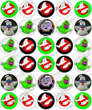30 x Ghostbusters Halloween Fun Party Edible Rice Wafer Paper Cupcake Toppers