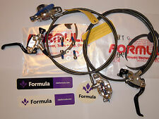Formula - Formula R1 Racing MY17 Brake Set Silver polish (front+rear) - NEW