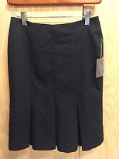 LOVE 21 New Black knee length Pleated Skirt NWT SIZE XS (X-small) (Q83)