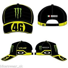VR46 VALENTINO ROSSI CAP OFFICIAL HAT GENUINE  VRFORTYSIX Monster OAKLEY