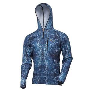 Savage Gear Savage Salt UV Hoodie Gr.M UV Schutz Kapuzen Shirt Sonnenschutz